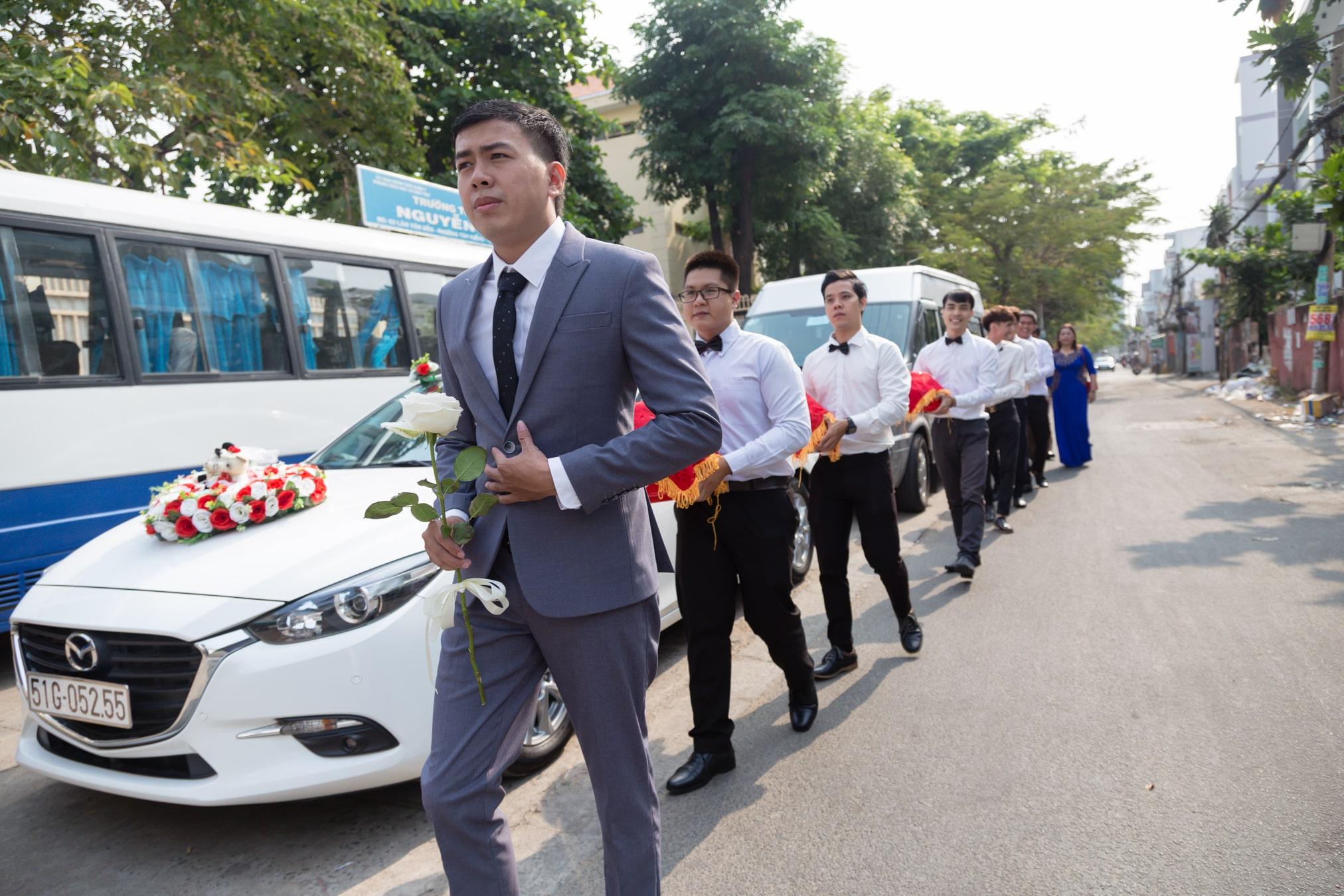 Dịch vụ chụp hình phóng sự cưới Hoàng Mến Media